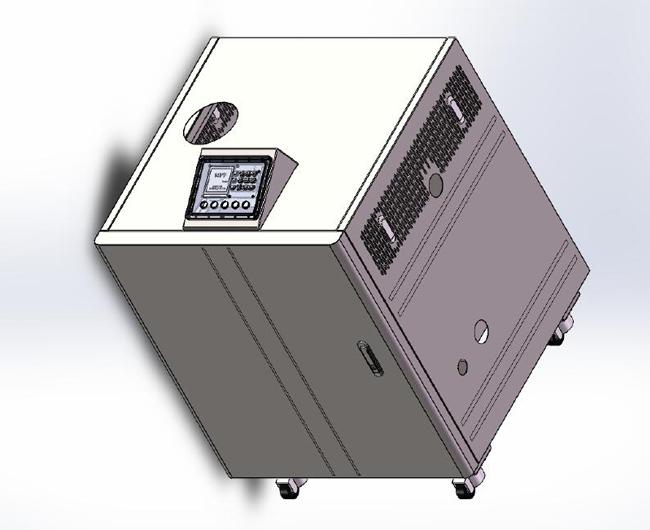 60KW全预混低氮冷凝燃气锅炉
